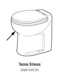 Tecma Silence RV toilet