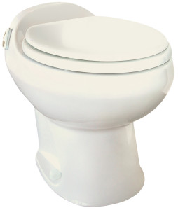 Aria Deluxe II - Permanent Toilet - High Profile - Bone