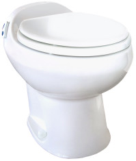 Aria Deluxe II - Permanent Toilet - High Profile - White