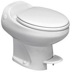 Aria Classic | High Profile | White | Permanent RV Toilet