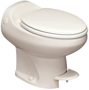 Aria Classic | High Profile | Bone | Permanent RV Toilet