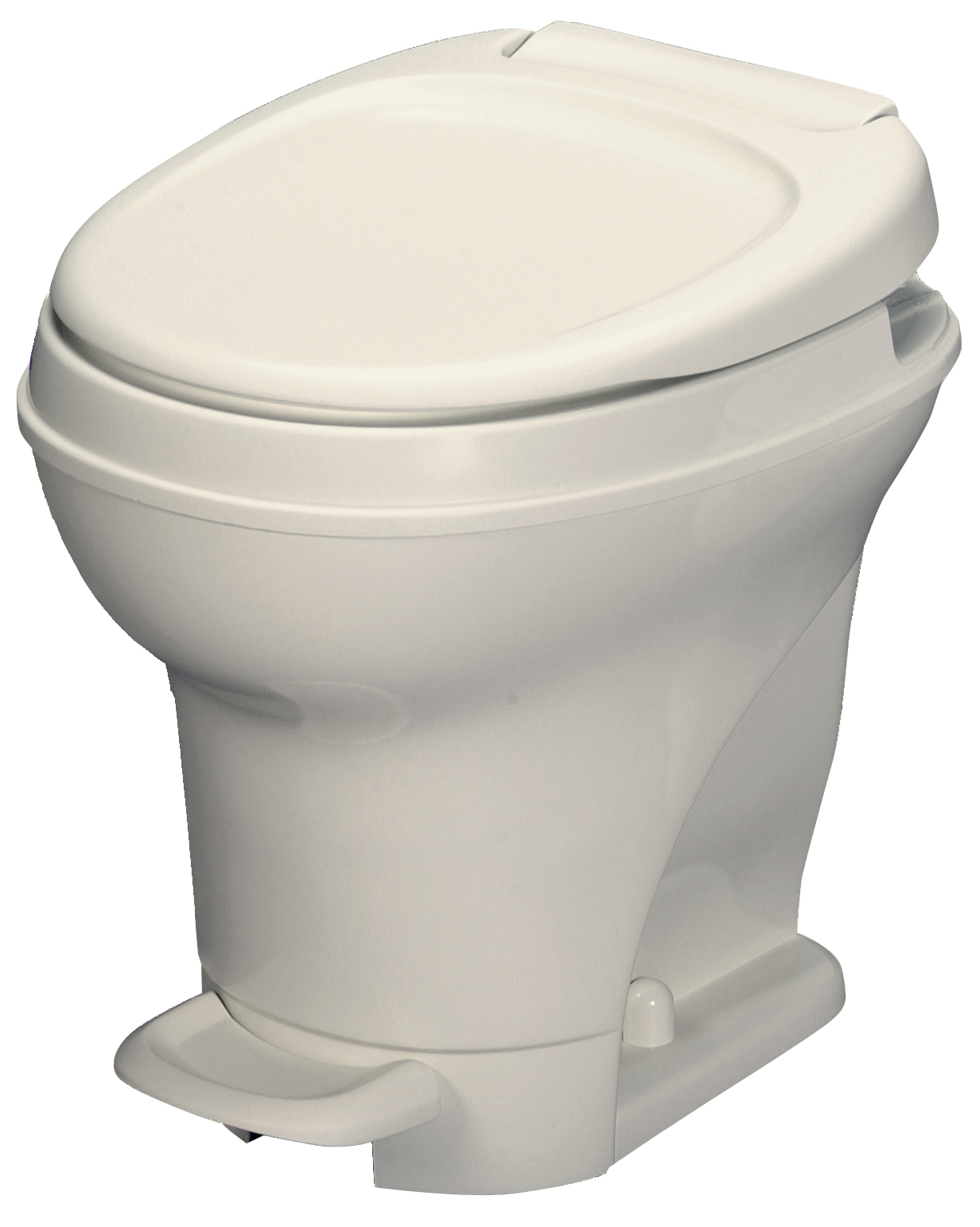 Aqua Magic V Foot Pedal Flush Lightweight Rv Toilet