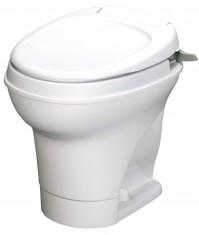 Aqua Magic V - Permanent Toilet - Hand Flush - White
