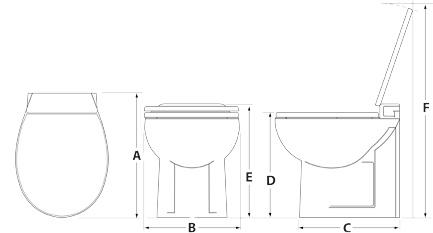 tecma silence plus products thetford saniplus upflush toilet macerator repair parts tecma macerator toilet problems