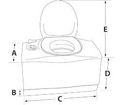 C402C Cassette¨ Dimensions Diagram