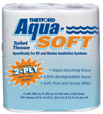 Aqua Soft Toilet Tissue   Thetford Corporation