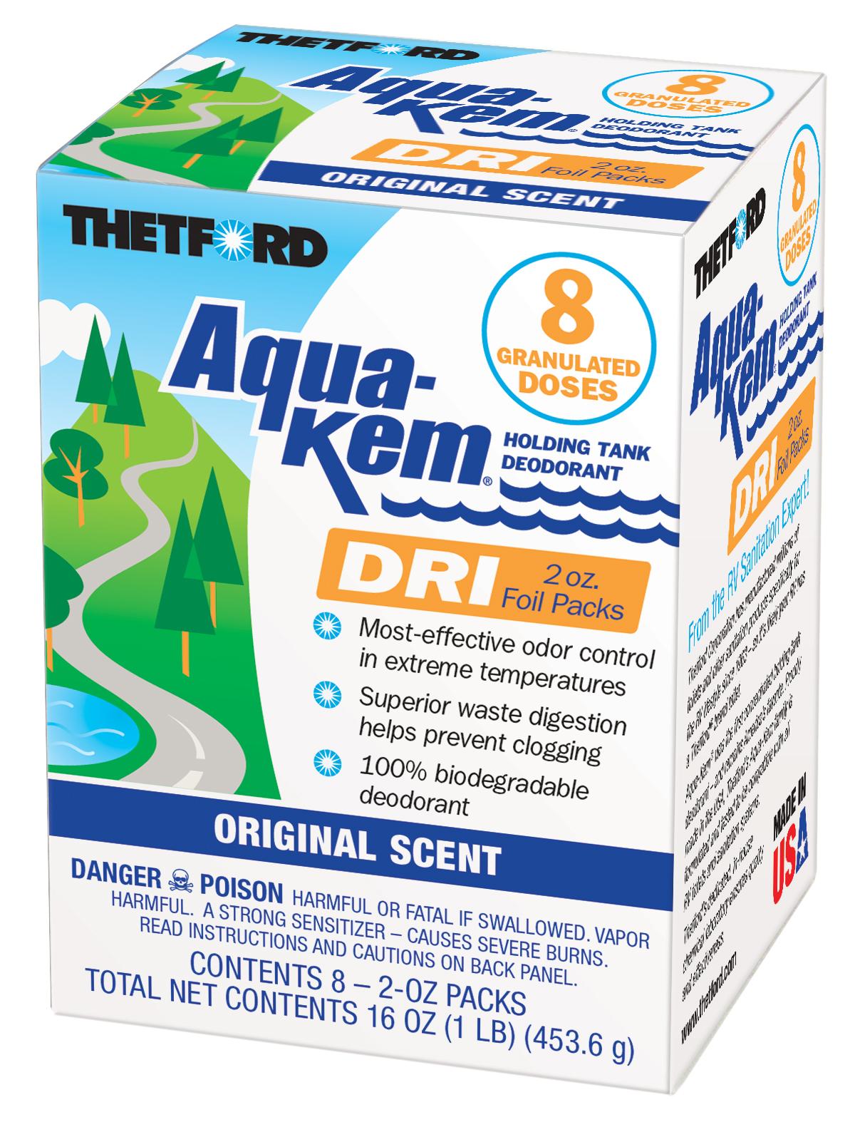 AquaKem DRI | 8 Pack