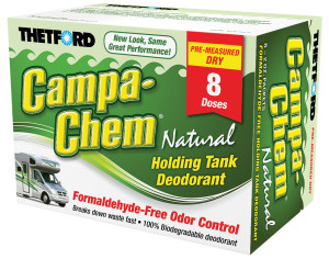 CampaChem Natural Dry - 8 pack | Thetford Corporation