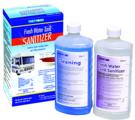 Fresh Water Tank Sanitizer Products