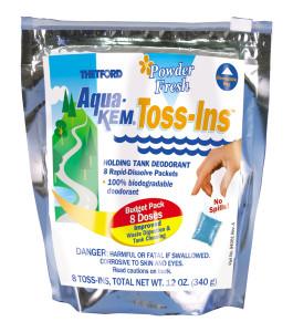 Aqua-Kem Toss-Ins | Powder Fresh | 12 Pack