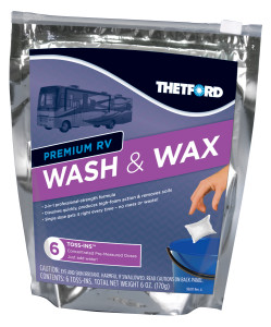 RV Wash & Wax - Toss-Ins 6 Pack | Thetford Corporation