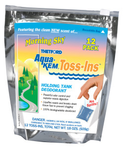 Aqua Kem Toss-Ins - Morning Sky - 12 Pack