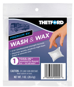 RV Wash & Wax - Toss-Ins Single | Thetford Corporation