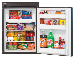 N306 Refrigerator | Open w/ Food