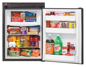 N306 Refrigerator | Open w/ Food
