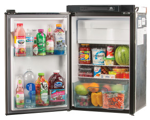 Norcold N3104 Refrigerator - Open - Left