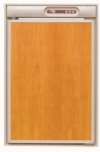 Norcold N410 Refrigerator -Beige - Closed