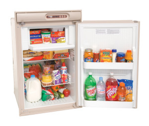 Norcold N410/N412 Refrigerator - Beige - Open