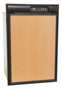 Norcold N412 Refrigerator - Black - Closed