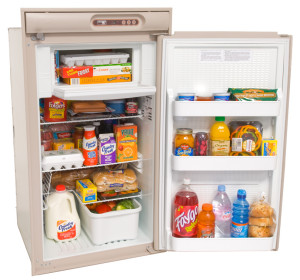 Norcold N510 - Refrigerator - Open - Beige