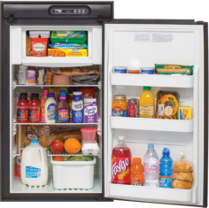 Norcold N512 - Refrigerator - Open - Black