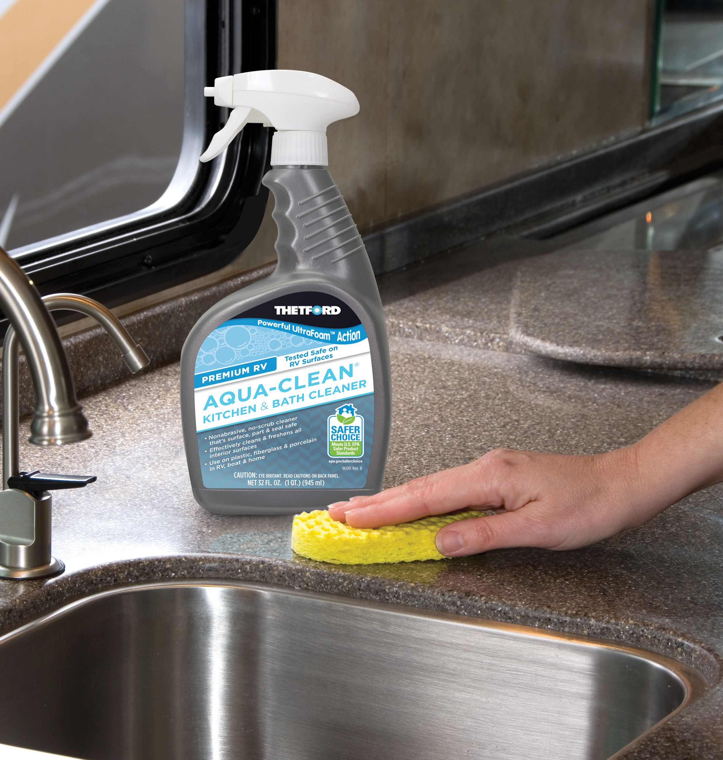 Kitchen Cleaning: Premium RV Ultrafoam™ Aqua-Clean
