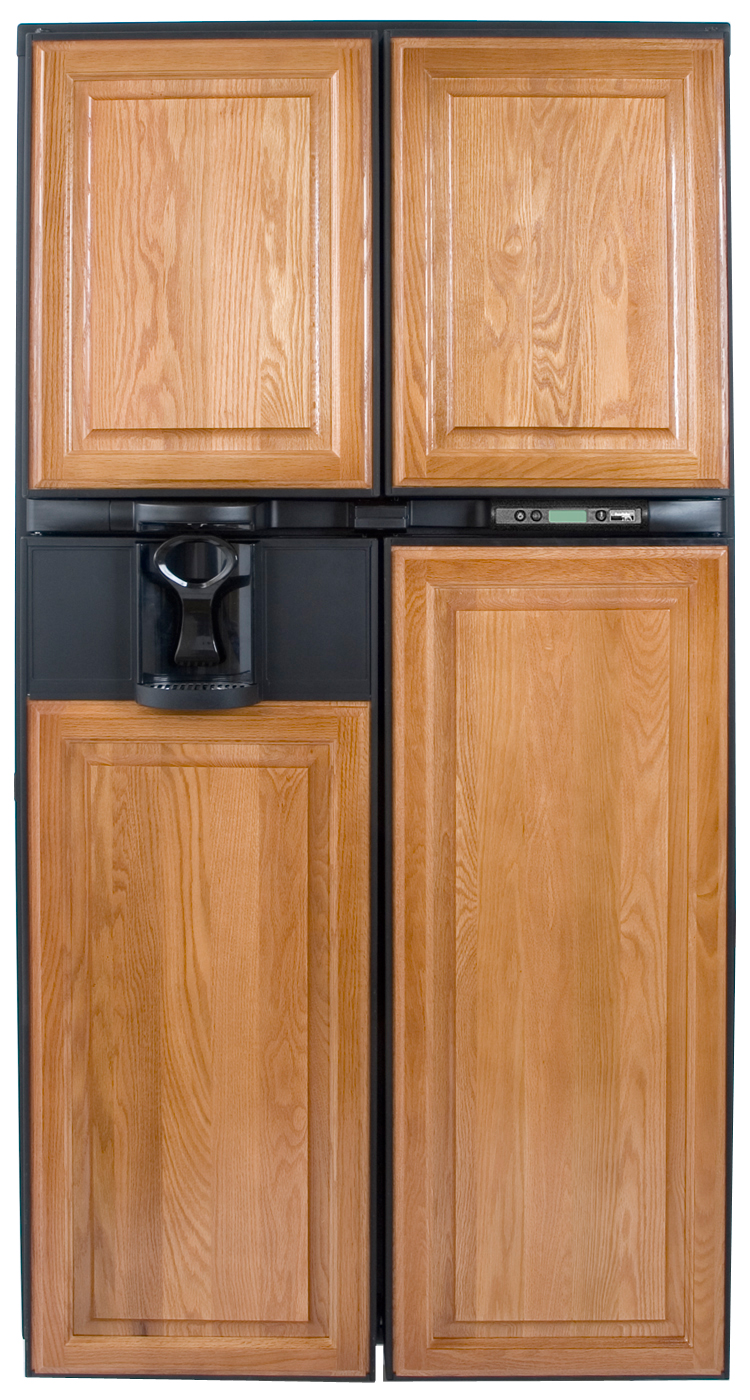 New Refrigerator With Wood Door Panel | Shapeyourminds.com KR63