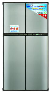 PolarMax 2118 Refrigerator | Front Stickers