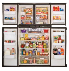 PolarMax 2118 Refrigerator | Open