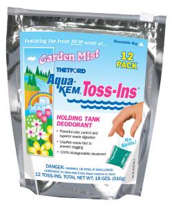 Aqua Kem Toss-Ins - Garden Mist - 12 Pack