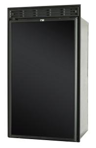 Norcold DC558 RV Refrigerator - Closed - Angled Left