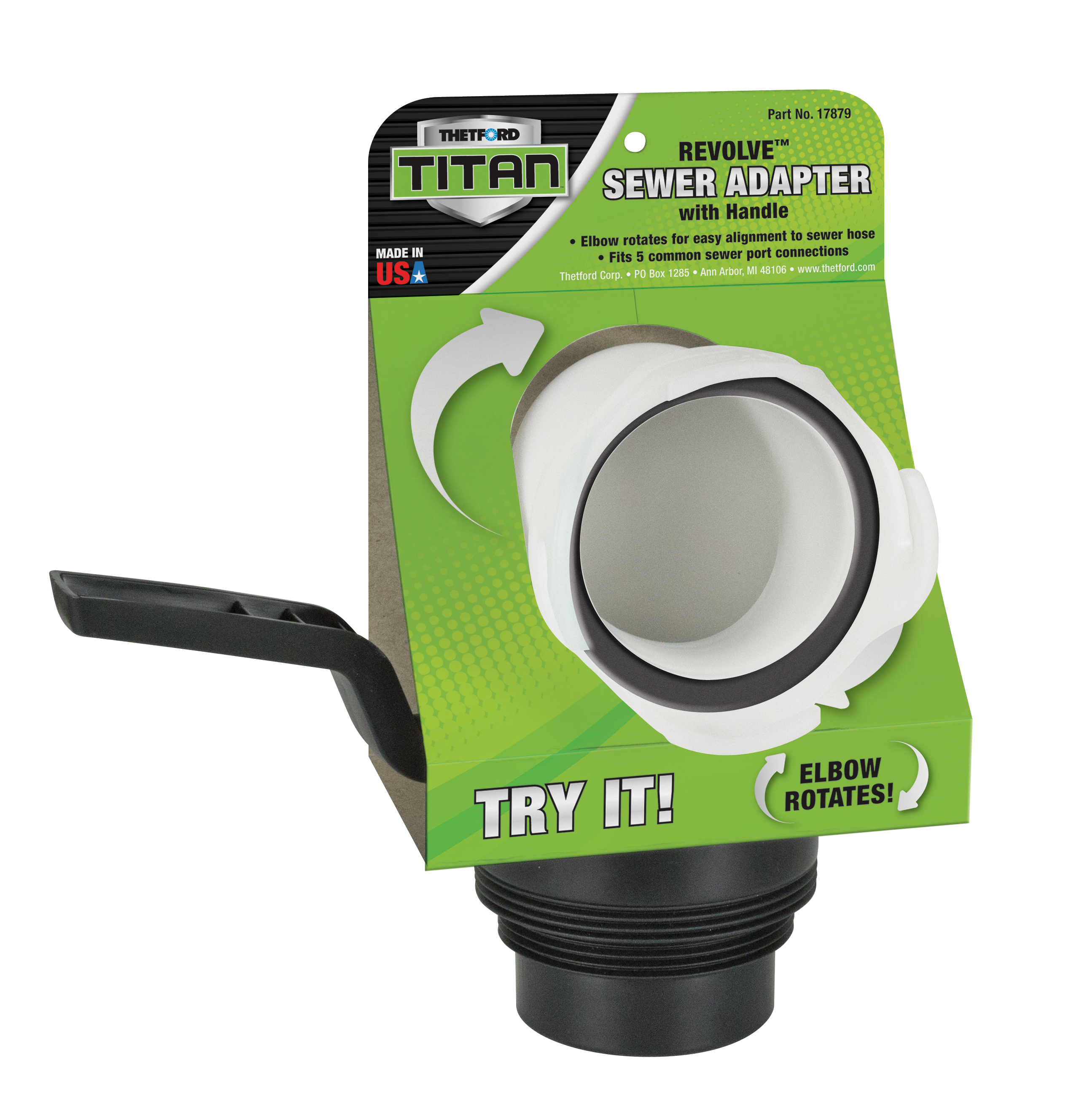 TitanR Premium RV Sewer Accessories