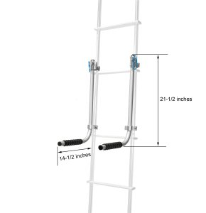 RV Ladder Mount Rack - Dimensions