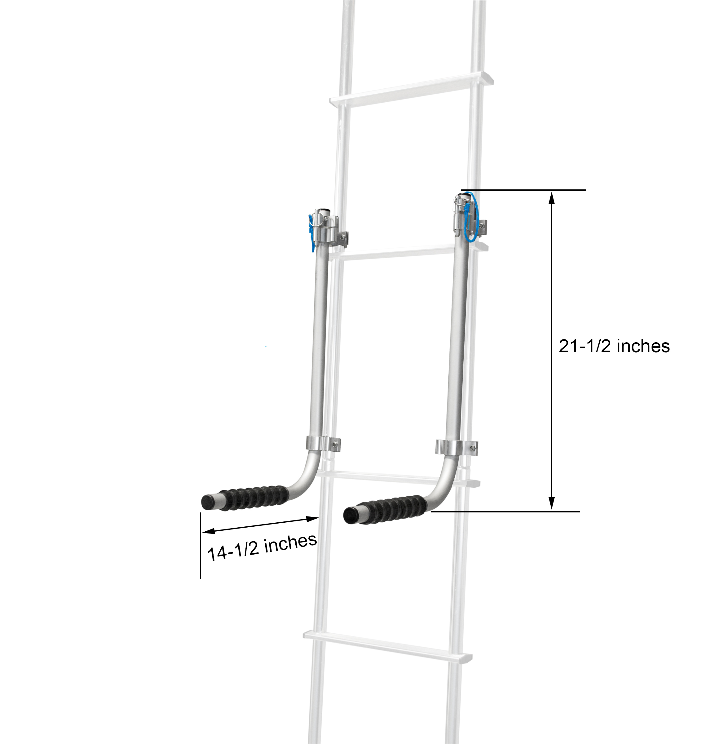 Tote Storage System Ladder Mount Rv Ladder Rack Thetford