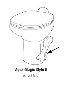 Aqua-Magic Style II RV Toilet