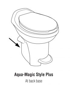 Aqua-Magic Style Plus RV Toilet