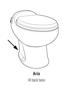 Aria RV toilet