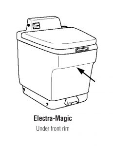 Electra Magic RV toilet