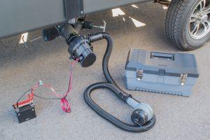 Sani-Con Turbo 300 - installed on RV